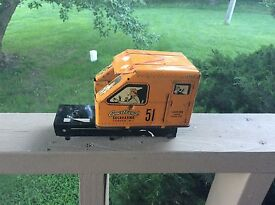 rare vintage walt reach tin excavating toy
