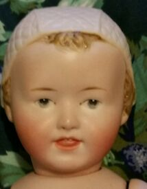 german character doll bisque repro antique