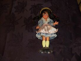 plastic co german standard doll with stand