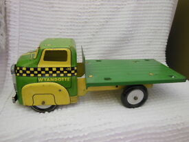 tin stake body truck vintage nice preowned