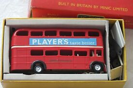 triang m1545 bluecol player s bus boxed
