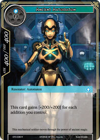 force of will ancient automaton fullart