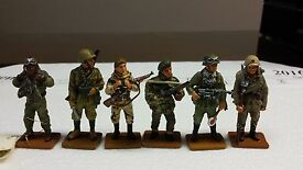 lot of 6 del prado toy soldiers wwii