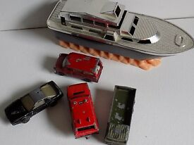 vintage toy diecast and other car lot hong