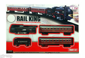 rail king classical toy set locomotive with