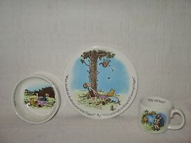 classic winnie the pooh child s cup bowl