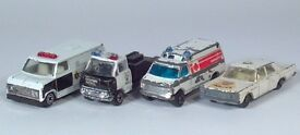 vintage police rescue squad car lot galaxie