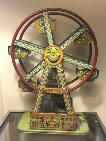 borgfeldt s nifty tin litho wind up toy