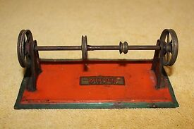 antique 1930s steam engine accessory toy