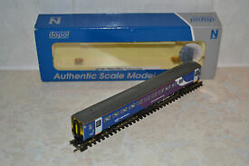 dapol scale class 153 dmu in northern livery
