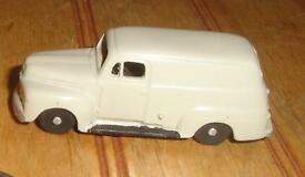 beige 1951 ford panel delivery ho scale inc