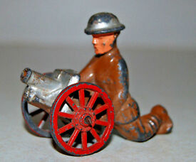 barclay manoil toy military soldier kneeling