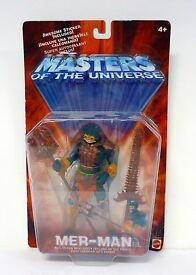 masters of the universe mer man mattel