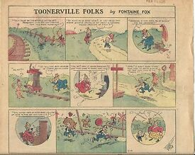 toonerville folks by fontaine fox 9 from