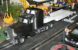 joal kenworth w900l semi tractor w transport
