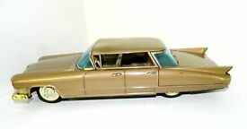 bandai tin friction large 12 1959 cadillac