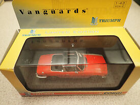 ltd edn vanguards 1 43 va10101 triumph stag