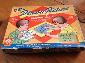 vintage codeg 1950 s draw a picture tracing