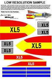 museum quality fireball xl5 tv style sticker