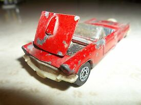 1980 ford thunderbird toy car corgi