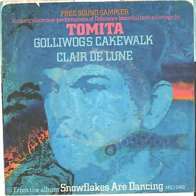 tomita picture sleeve 45 s cakewalk ps pic