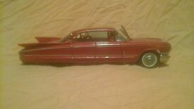 1960s cadillac tin friction car 9 toy japan