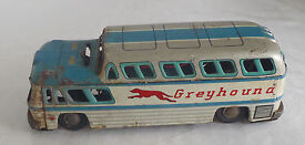 vintage tin toy battery powered greyhound