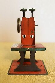 antique 1940s steam engine accessory toy