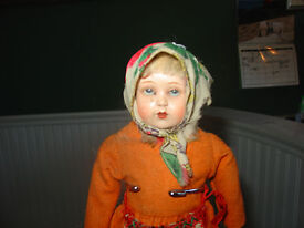 antique doll turtle mark celluloid cloth