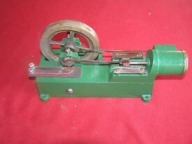 antique toy electric motor designed to look