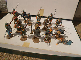frontline figures confederate infantry lot