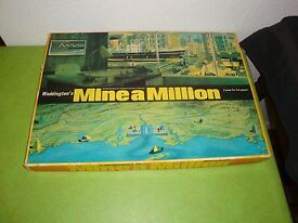 vintage mine a million board game by