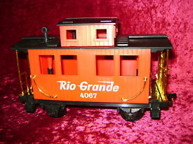 eztec rio grande caboose red scientific toys