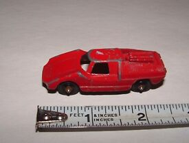 tootsietoy u s a fiat red collection