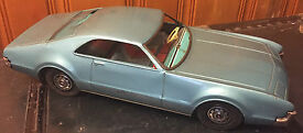 vintage japan tin car toronado toy car big