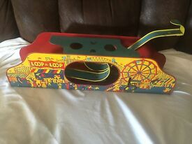 1950 s tin litho wind up loop a loop nice