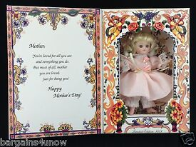 marie osmond greeting card doll happy mother
