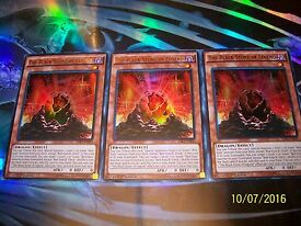 3x the black stone of legend 1st edition
