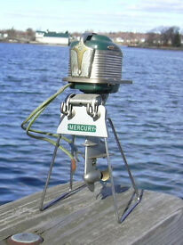 display stand mercury toy outboard motors