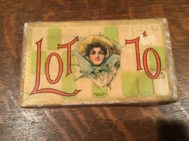 antique lotto parlor game ca 1890 s