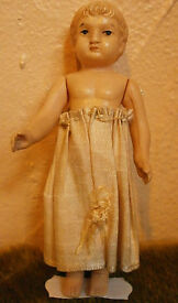 antique celluloid doll schildkroet