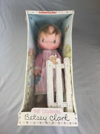 vintage 1975 betsey clark doll by new in box