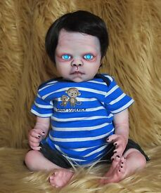 new artist made boy zombie reborn doll jimmy