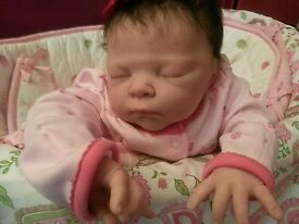 reborn baby girl maggie serah sculpt by
