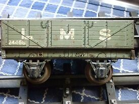 vintage o gauge lms open wagon no24468 to