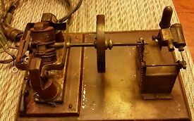 antique vintage steam electric toy transfer