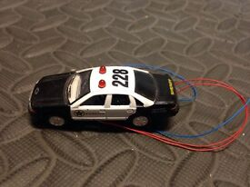 kinsmart scale model police car approx 1 87