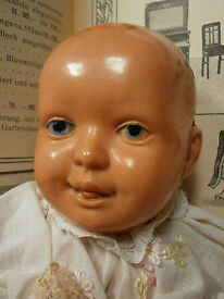 antique schildkroet baby doll 1910