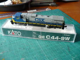 kato n scale c44 9w csx dcc fitted loco