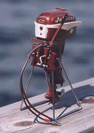 display stand johnson toy outboard motors